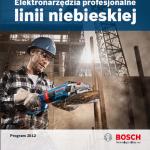 Katalog BOSCH – elektronarzędzia profesjonalne – linia niebieska – 2012