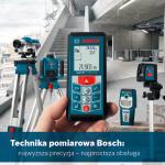 Katalog narzędzi pomiarowych BOSCH linia niebieska 2011