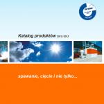 Katalog produktów spawalniczych KEMPER - 2012/2013