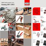Katalog narzędzi do zaciskania i cięcia Bessey 2011/2012