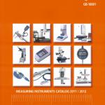 Katalog przyrządów pomiarowych Mitutoyo 2011/2012