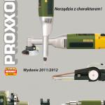 Katalog elektronarzędzi Proxxon micromot 2011/2012