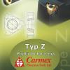 Katalog płytek typu Z do toczenia marki Carmex / Fanar 2010
