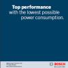 Katalog narzędzi przemysłowych o wysokich częstotliwościach Bosch 2010
