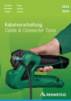 Katalog narzędzi do kabli marki Rennsteig 2013/2014