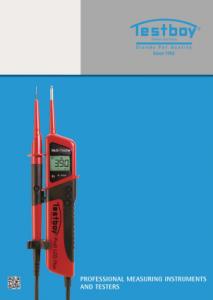 Urządzenia pomiarowe Testboy - katalog 2012