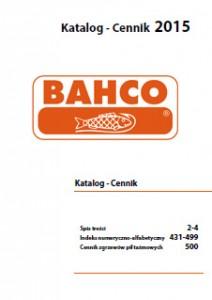Narzędzia ręczne BAHCO - katalog 2015