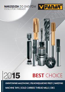 Katalog narzędzi do gwintów Best Choice 2015