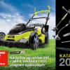 Katalog narzędzi ogrodowych marki Ryobi 2014