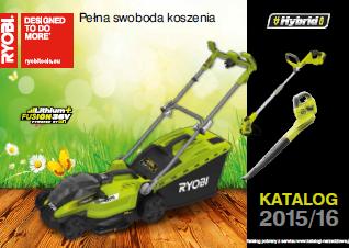 Katalog elektronarzędzi do ogrodu marki Ryobi 2015/2016