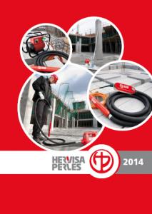 Buławy wibracyjne Hervisa Perles - katalog 2014